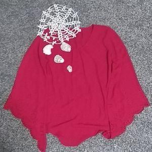 Cato Women's Flow Shirt + Sweater Bundle